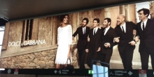 Dolce and Gabbana Billboard Italy