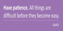 Why patience is a virtue - how to implement more ...